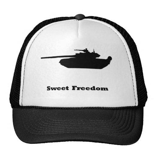 Libertad del dulce del tanque gorra