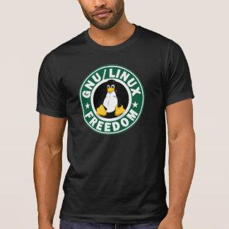 Libertad del GNU Linux Camisetas
