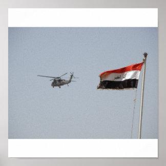 Libertad del iraquí de la operación póster