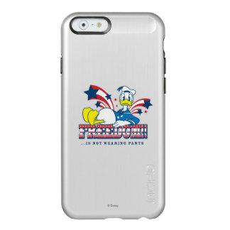 Libertad del pato Donald el | Funda Para iPhone 6 Plus Incipio Feather Shine