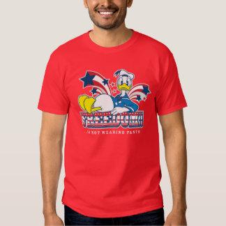 Libertad del pato Donald el   Playera