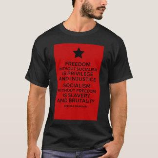 Libertad del socialismo de la cita de Bakunin Playera