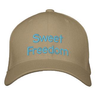 Libertad dulce gorros bordados