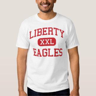 Libertad - Eagles - escuela secundaria - aurora Playeras