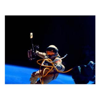 Libertad en astronauta de la NASA del espacio exte Postal
