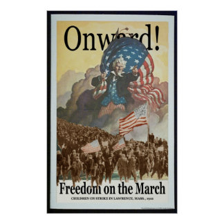 Libertad en el poster de marzo
