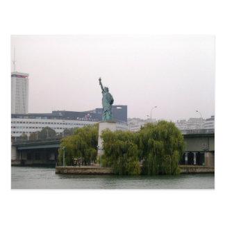 Libertad en Francia Tarjeta Postal