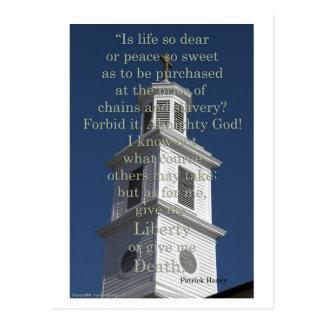 Libertad en St John Postales