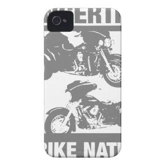 Libertad en sus yemas del dedo - nación del trike Case-Mate iPhone 4 carcasa