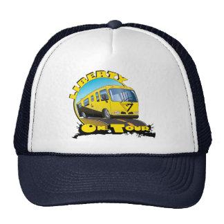 Libertad en viaje gorras