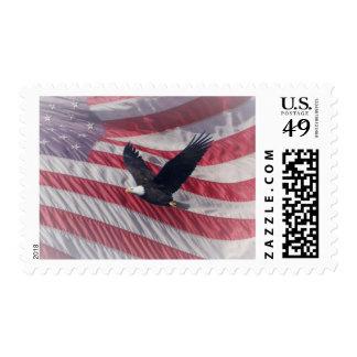 Libertad en vuelo sello