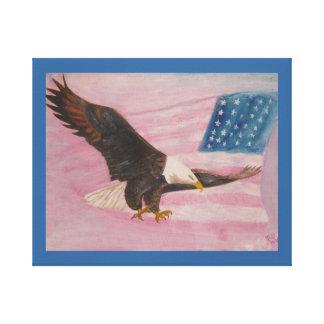 Libertad envuelta de la impresión de la lona impresiones en lona