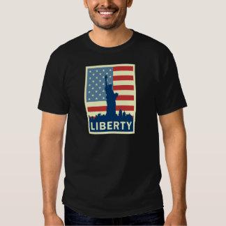 Libertad (estatua) remeras