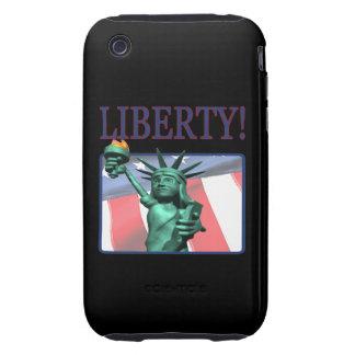 Libertad iPhone 3 Tough Protectores
