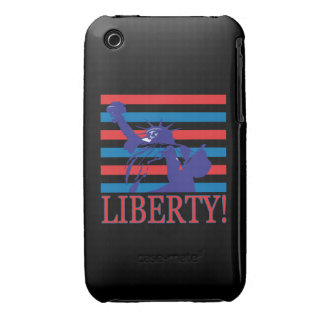 Libertad iPhone 3 Case-Mate Fundas