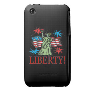 Libertad iPhone 3 Fundas