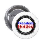 Libertad Hotties - miembro oficial Pins