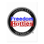 Libertad Hotties - miembro oficial Tarjeta Postal