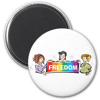 Libertad Iman Para Frigorífico