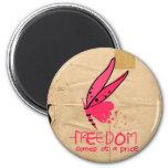 Libertad Imán De Frigorífico