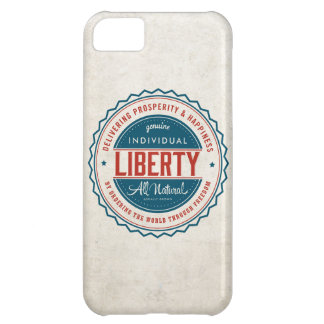 Libertad individual funda para iPhone 5C
