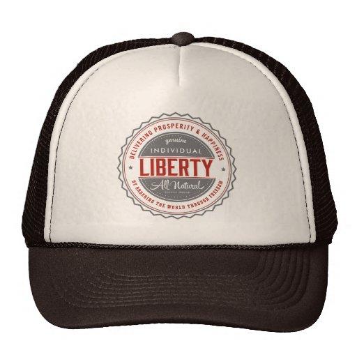 Libertad individual gorras