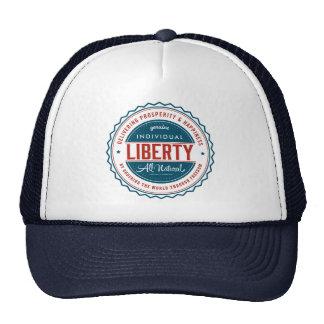 Libertad individual gorro de camionero