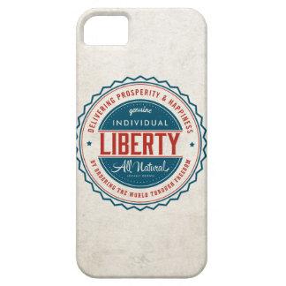 Libertad individual iPhone 5 fundas