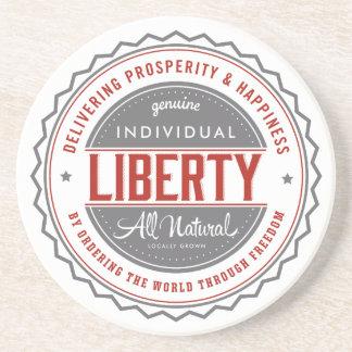 Libertad individual posavasos manualidades