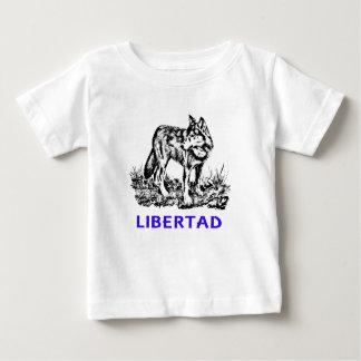 Libertad - Lobo EN la naturaleza Baby T-Shirt