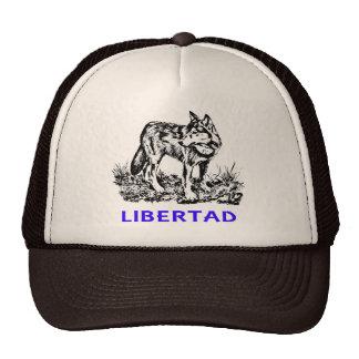 Libertad - Lobo EN la naturaleza Hat
