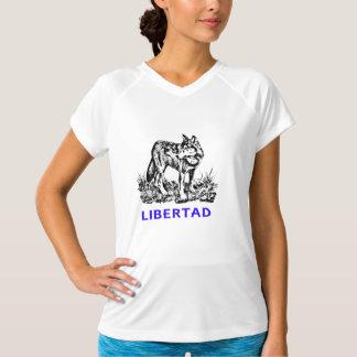 Libertad - Lobo EN la naturaleza T Shirt