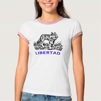 Libertad - Lobo EN la naturaleza Tee Shirt