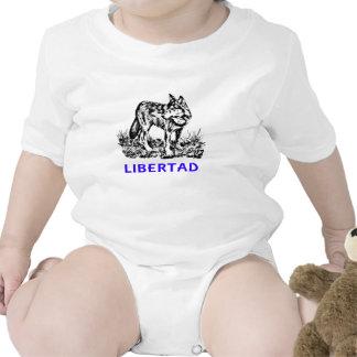 Libertad - Lobo EN la naturaleza Tshirt
