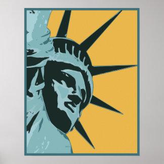 Libertad los E.E.U.U. Póster