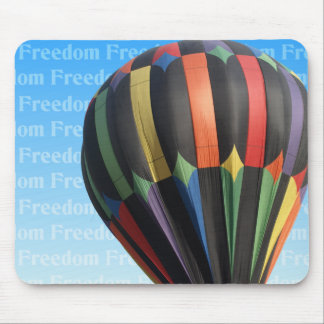 Libertad Mousepad del globo del aire caliente