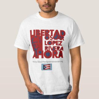 Libertad Oscar Lopez Rivera Ahora T-Shirt