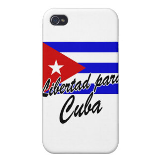 Libertad para Cuba! Cover For iPhone 4