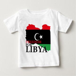 Libertad para Libia Playera De Bebé