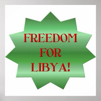 ¡Libertad para los libios Impresiones