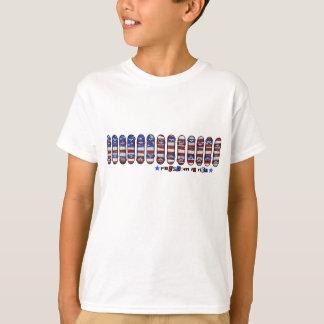 Libertad para montar la camiseta de los muchachos remeras