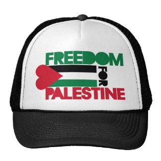 Libertad para Palestina Gorras De Camionero