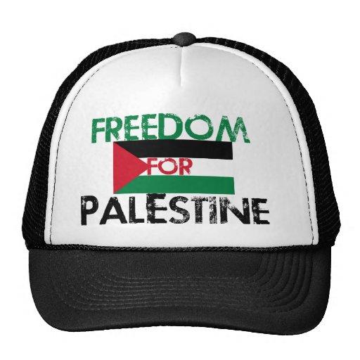 Libertad para Palestina Gorros