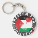 Libertad para Palestina Llavero