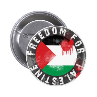 Libertad para Palestina Pin Redondo 5 Cm