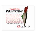 Libertad para Palestina Tarjetas Postales