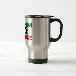 Libertad para Palestina Tazas De Café