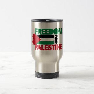 Libertad para Palestina Taza De Viaje