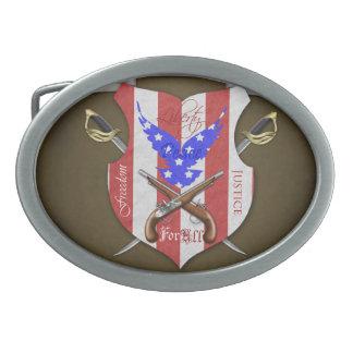 Libertad para toda la hebilla del cinturón patriót hebillas cinturon