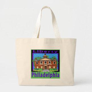 Libertad Pasillo de Philadelphia Bolsa Tela Grande